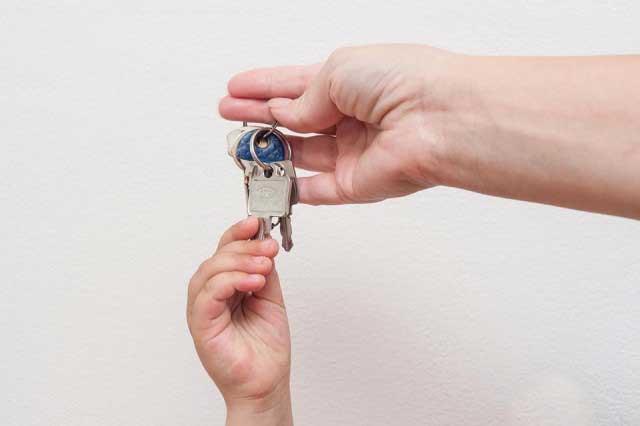 Klíče od nového domu