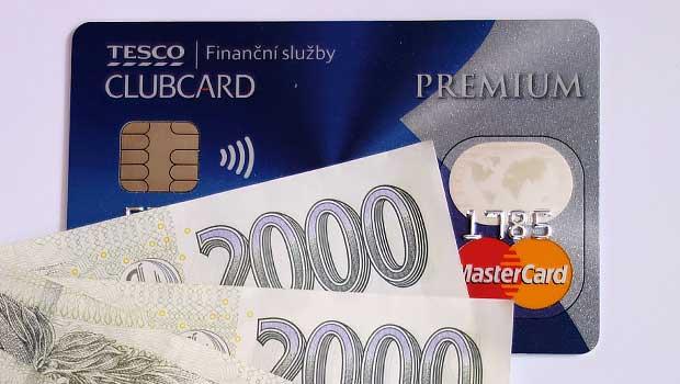 Kreditní karta CLUBCARD od Tesco