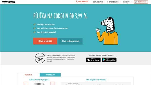 Projekt Zonky.cz